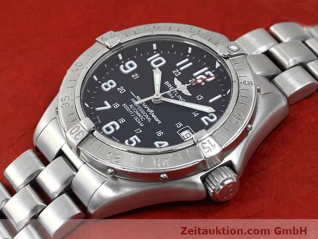 Used luxury watch Breitling Superocean steel automatic Kal. ETA 2824-2 Ref. A17345  | 140161 01
