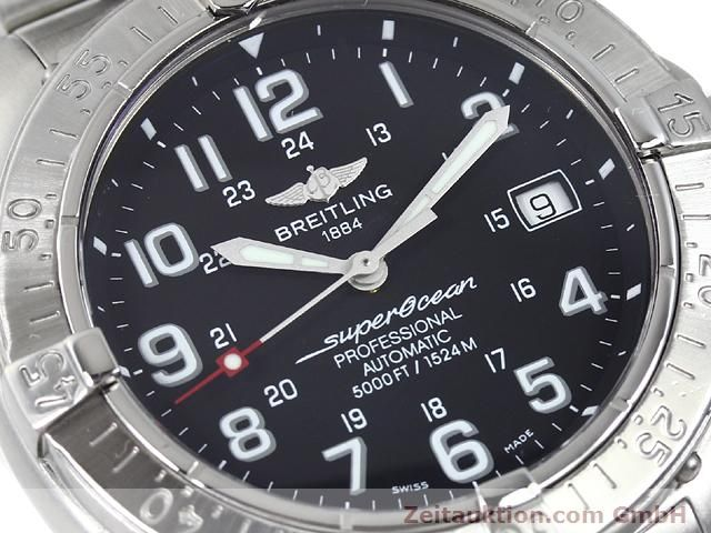 Used luxury watch Breitling Superocean steel automatic Kal. ETA 2824-2 Ref. A17345  | 140161 02