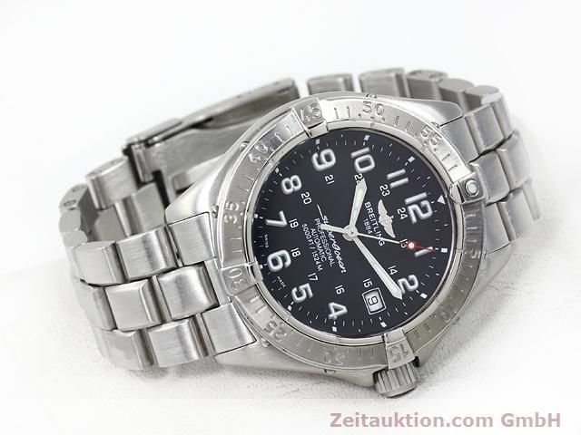 Used luxury watch Breitling Superocean steel automatic Kal. ETA 2824-2 Ref. A17345  | 140161 03