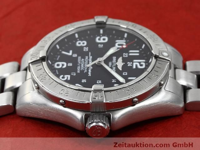 Used luxury watch Breitling Superocean steel automatic Kal. ETA 2824-2 Ref. A17345  | 140161 05