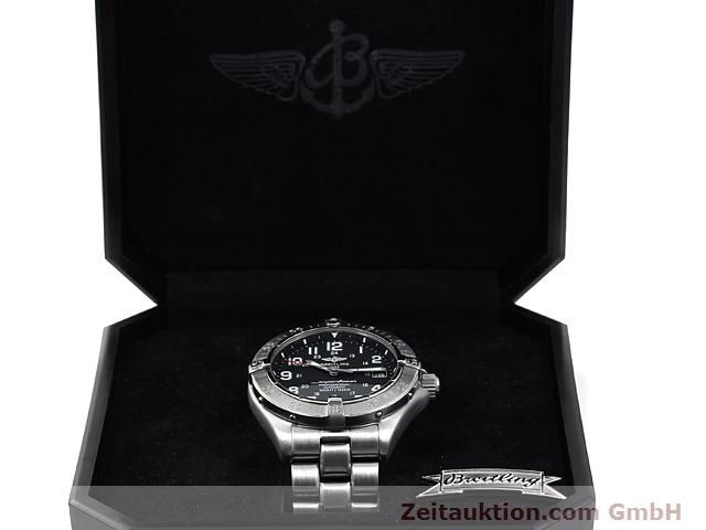 Used luxury watch Breitling Superocean steel automatic Kal. ETA 2824-2 Ref. A17345  | 140161 07