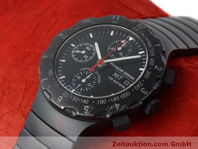 Used luxury watch Porsche Design * titanium automatic Kal. ETA 7750 Ref. 6500.12  | 140162 01