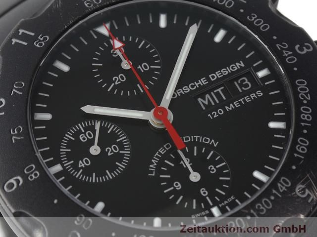 Used luxury watch Porsche Design * titanium automatic Kal. ETA 7750 Ref. 6500.12  | 140162 02