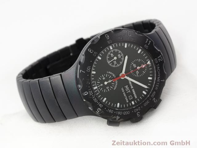 Used luxury watch Porsche Design * titanium automatic Kal. ETA 7750 Ref. 6500.12  | 140162 03