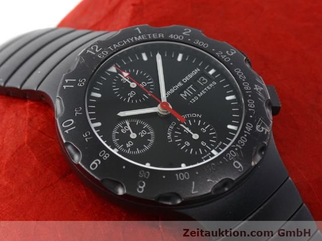 Used luxury watch Porsche Design * titanium automatic Kal. ETA 7750 Ref. 6500.12  | 140162 16