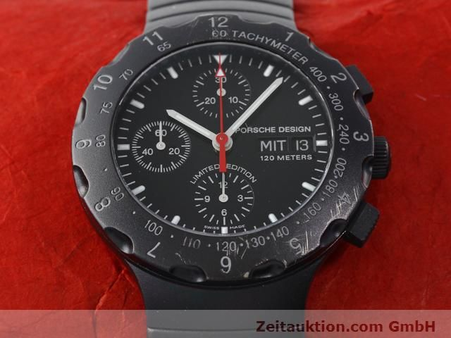Used luxury watch Porsche Design * titanium automatic Kal. ETA 7750 Ref. 6500.12  | 140162 17
