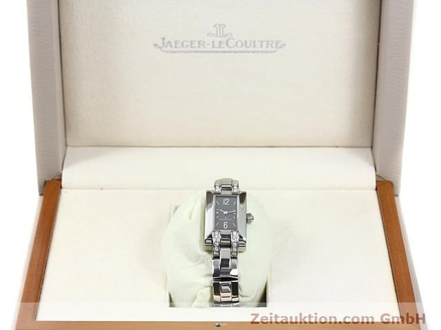 Used luxury watch Jaeger Le Coultre * steel quartz Kal. H1137 (608) Ref. 460.8.08  | 140163 07