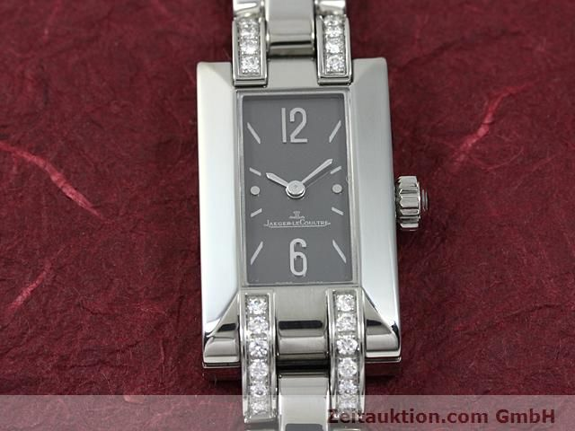 Used luxury watch Jaeger Le Coultre * steel quartz Kal. H1137 (608) Ref. 460.8.08  | 140163 13