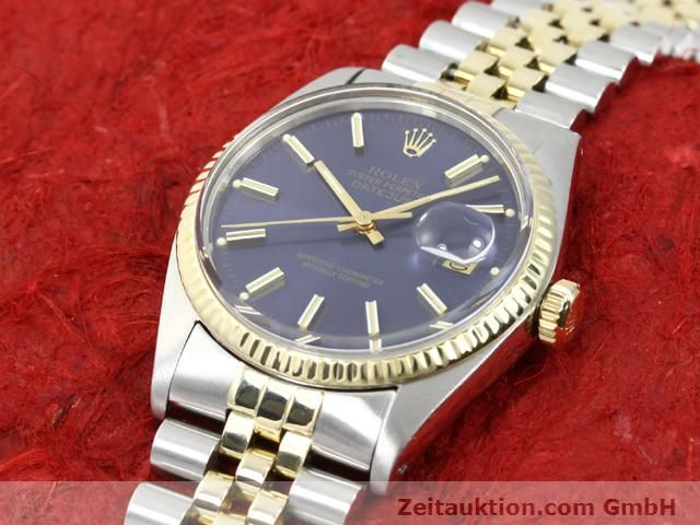 Used luxury watch Rolex Datejust steel / gold automatic Kal. 3035 Ref. 16013  | 140172 01