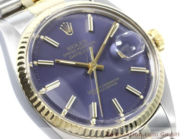 Used luxury watch Rolex Datejust steel / gold automatic Kal. 3035 Ref. 16013  | 140172 02