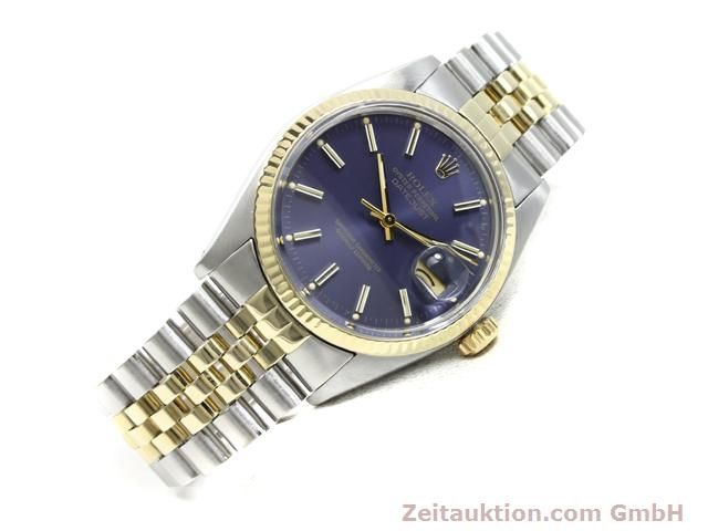 Used luxury watch Rolex Datejust steel / gold automatic Kal. 3035 Ref. 16013  | 140172 03