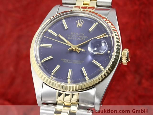 Used luxury watch Rolex Datejust steel / gold automatic Kal. 3035 Ref. 16013  | 140172 04
