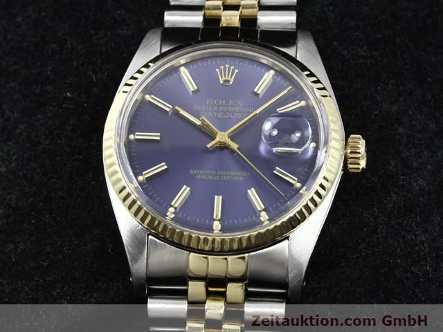 Used luxury watch Rolex Datejust steel / gold automatic Kal. 3035 Ref. 16013  | 140172 07