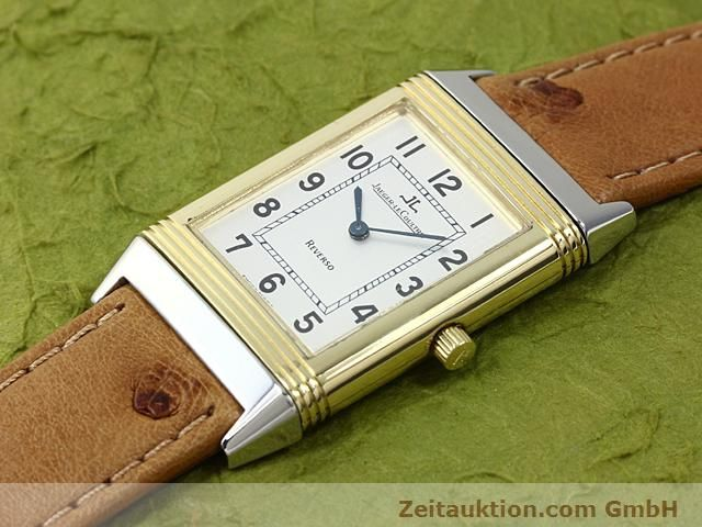 Used luxury watch Jaeger Le Coultre Reverso steel / gold manual winding Kal. 846 Ref. 250.5.86  | 140177 01