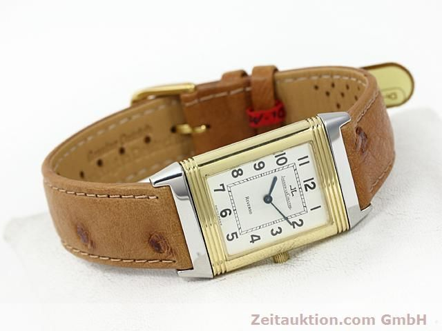 Used luxury watch Jaeger Le Coultre Reverso steel / gold manual winding Kal. 846 Ref. 250.5.86  | 140177 03
