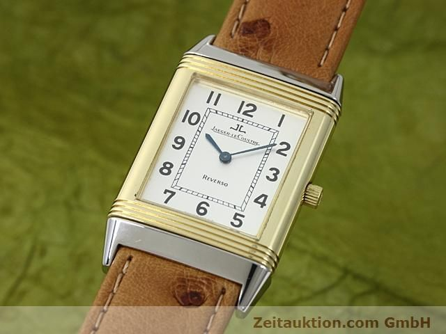 Used luxury watch Jaeger Le Coultre Reverso steel / gold manual winding Kal. 846 Ref. 250.5.86  | 140177 04