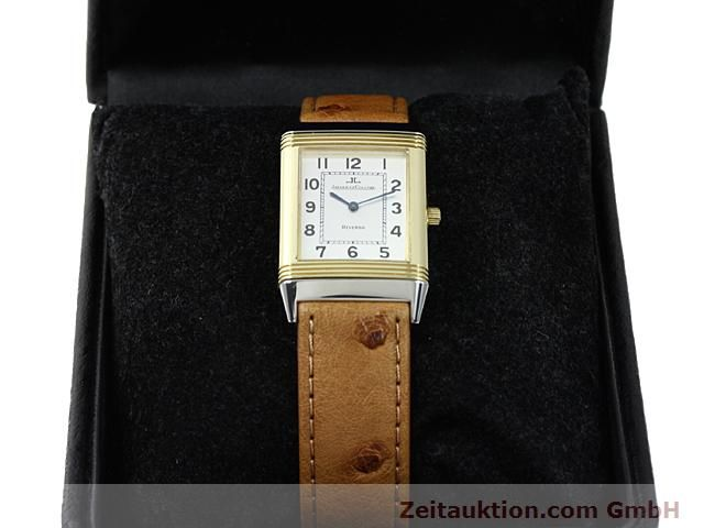Used luxury watch Jaeger Le Coultre Reverso steel / gold manual winding Kal. 846 Ref. 250.5.86  | 140177 07