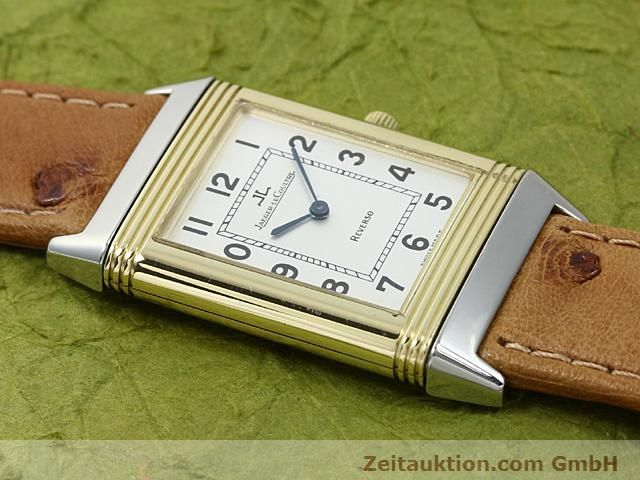 Used luxury watch Jaeger Le Coultre Reverso steel / gold manual winding Kal. 846 Ref. 250.5.86  | 140177 13