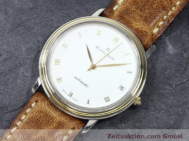 Used luxury watch Blancpain Villeret steel / gold automatic Kal. 95  | 140178 01