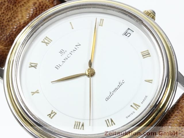 Used luxury watch Blancpain Villeret steel / gold automatic Kal. 95  | 140178 02