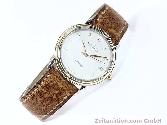 Used luxury watch Blancpain Villeret steel / gold automatic Kal. 95  | 140178 03