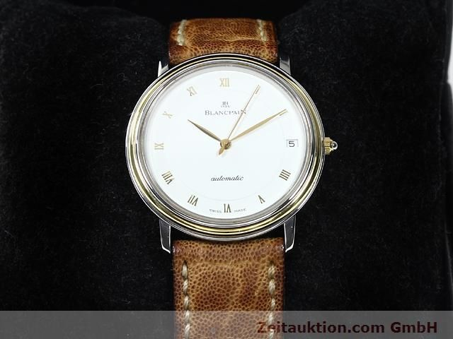 Used luxury watch Blancpain Villeret steel / gold automatic Kal. 95  | 140178 07