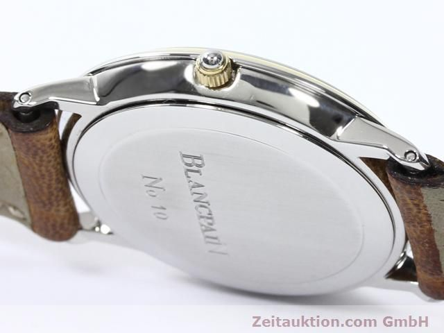 Used luxury watch Blancpain Villeret steel / gold automatic Kal. 95  | 140178 09