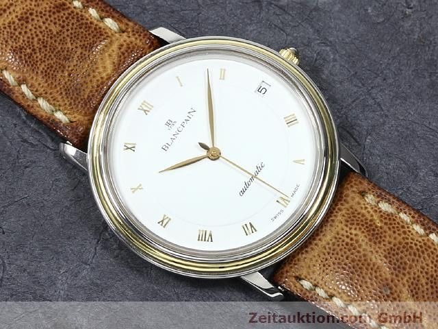 Used luxury watch Blancpain Villeret steel / gold automatic Kal. 95  | 140178 14