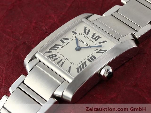 Used luxury watch Cartier Tank steel quartz Kal. 157.06 Ref. 2301  | 140179 01