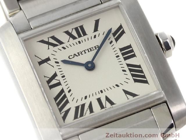 Used luxury watch Cartier Tank steel quartz Kal. 157.06 Ref. 2301  | 140179 02