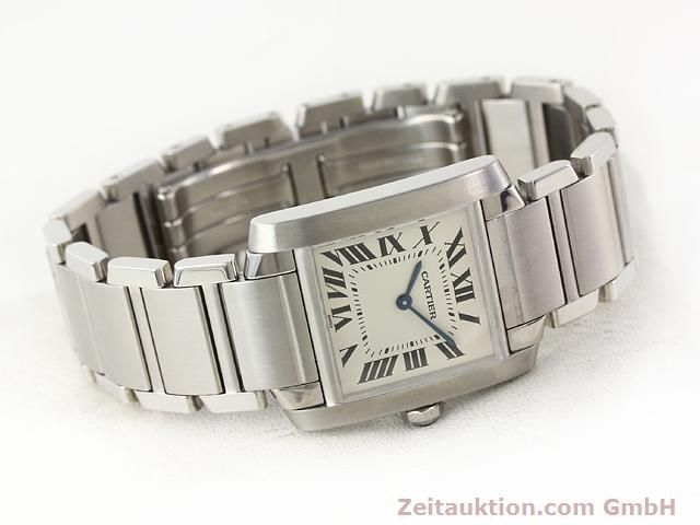 Used luxury watch Cartier Tank steel quartz Kal. 157.06 Ref. 2301  | 140179 03