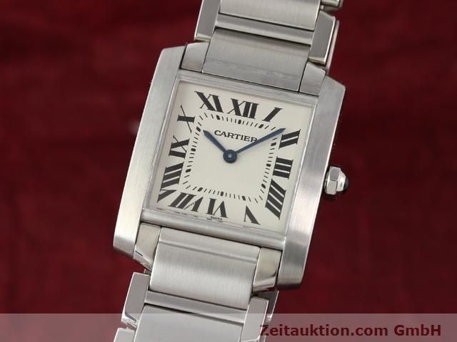 Used luxury watch Cartier Tank steel quartz Kal. 157.06 Ref. 2301  | 140179 04