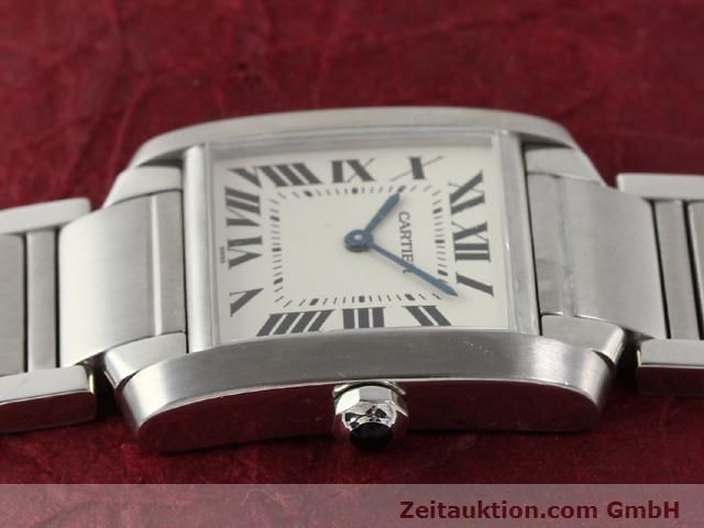 Used luxury watch Cartier Tank steel quartz Kal. 157.06 Ref. 2301  | 140179 05