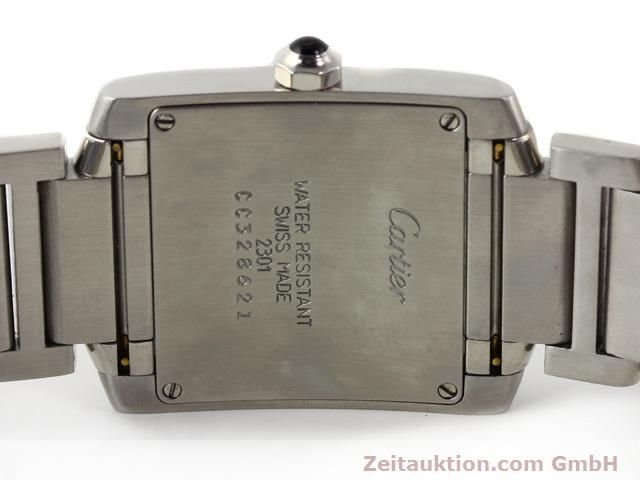 Used luxury watch Cartier Tank steel quartz Kal. 157.06 Ref. 2301  | 140179 09