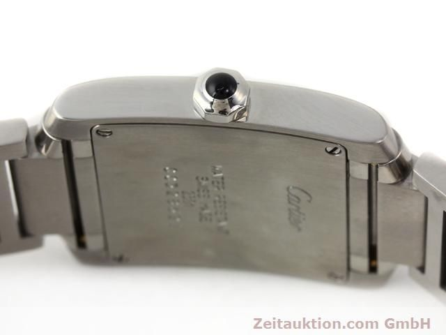 Used luxury watch Cartier Tank steel quartz Kal. 157.06 Ref. 2301  | 140179 10