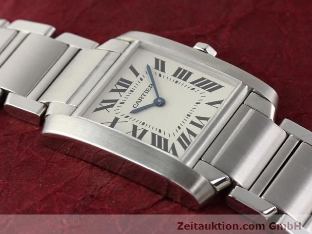 Used luxury watch Cartier Tank steel quartz Kal. 157.06 Ref. 2301  | 140179 14