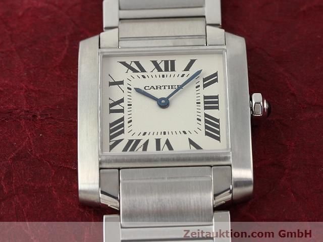 Used luxury watch Cartier Tank steel quartz Kal. 157.06 Ref. 2301  | 140179 15