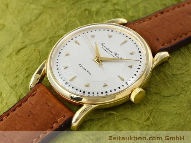 montre de luxe d occasion IWC * or 18 ct automatique Kal. C.85  | 140181 01