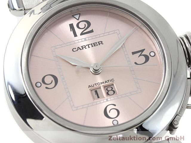 Used luxury watch Cartier Pasha steel automatic Kal. 052 (ETA 2892A2)  | 140183 02