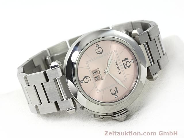 Used luxury watch Cartier Pasha steel automatic Kal. 052 (ETA 2892A2)  | 140183 03