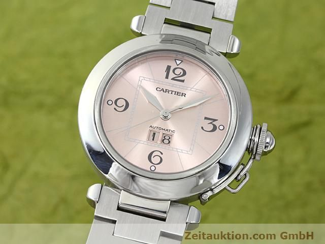 Used luxury watch Cartier Pasha steel automatic Kal. 052 (ETA 2892A2)  | 140183 04