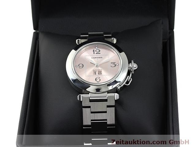 Used luxury watch Cartier Pasha steel automatic Kal. 052 (ETA 2892A2)  | 140183 07
