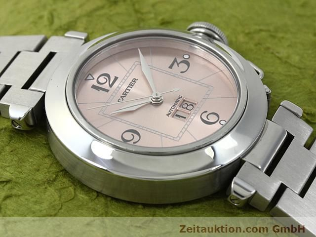 Used luxury watch Cartier Pasha steel automatic Kal. 052 (ETA 2892A2)  | 140183 14