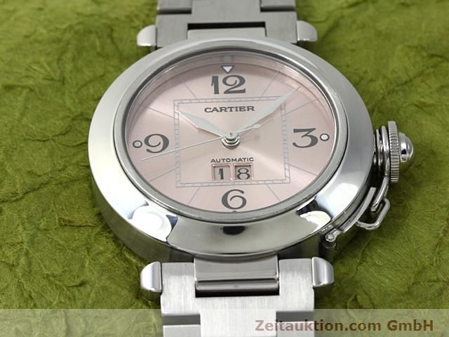 Used luxury watch Cartier Pasha steel automatic Kal. 052 (ETA 2892A2)  | 140183 15