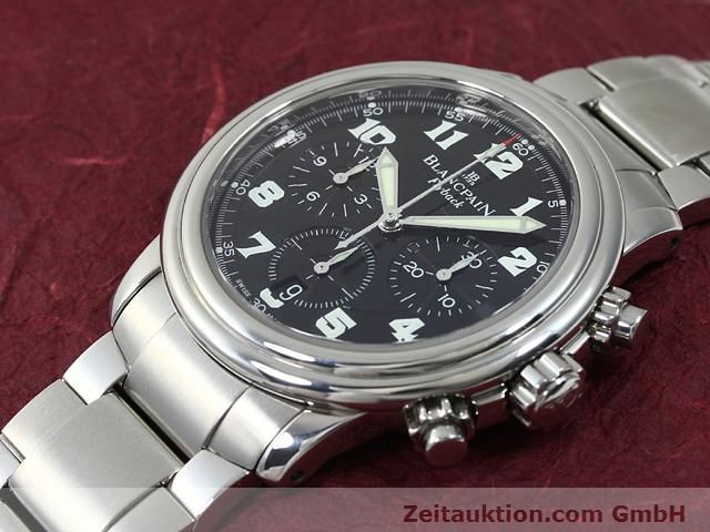 Used luxury watch Blancpain Leman steel automatic Kal. F185  | 140185 01