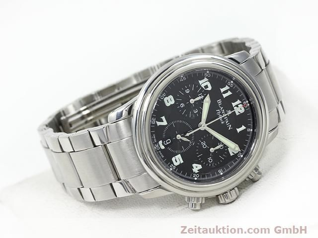 Used luxury watch Blancpain Leman steel automatic Kal. F185  | 140185 03