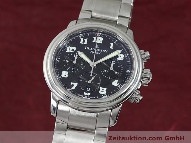 Used luxury watch Blancpain Leman steel automatic Kal. F185  | 140185 04