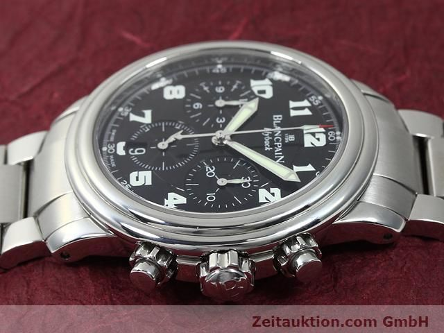 Used luxury watch Blancpain Leman steel automatic Kal. F185  | 140185 05