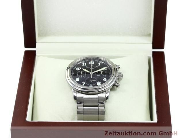 Used luxury watch Blancpain Leman steel automatic Kal. F185  | 140185 07