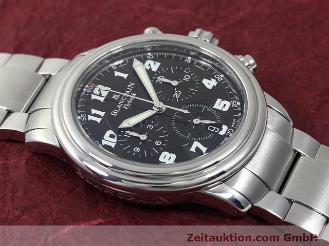 Used luxury watch Blancpain Leman steel automatic Kal. F185  | 140185 14